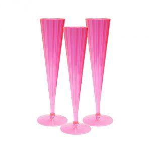Flutes - Neon Pink