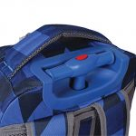 Block Navy – J World New York Sunrise Rolling Backpack