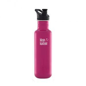 Magenta Klean Kanteen Stainless Steel Bottle