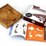 Monkey Pod Games Tangram Puzzle