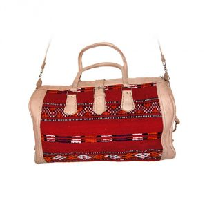 Moroccan-Leather-Recycled-Kilim-Rug-Bag