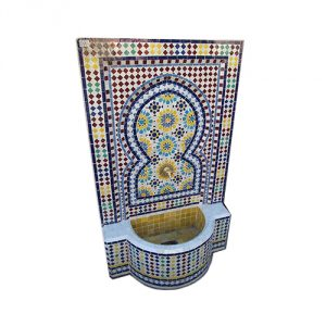 Mosaic-Tile-Fountain