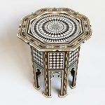 Octagon Inlay Side Table