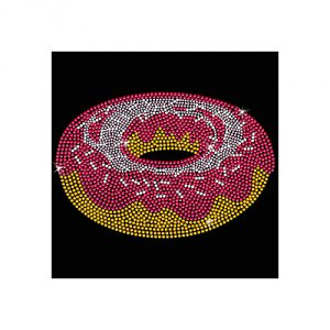 PATCHES Rhinestone Doughnut