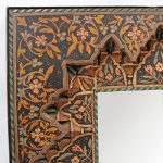 Painted Moroccan Mirror