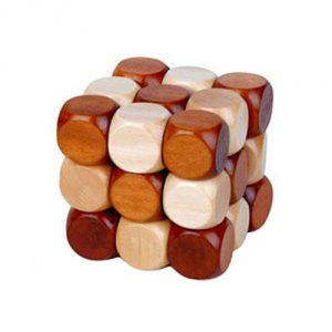 Snake-Cube-Wooden-Brain-Teaser