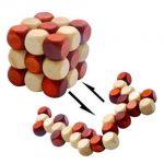 Snake Cube Wooden Brain Teaser