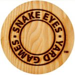 Snake Eyes Yard Dominoes