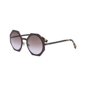 Sunglasses-Fendi-Brown-Violet