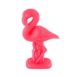 SunnyLife Small Flamingo Candle