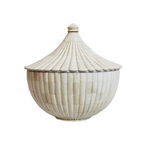 White-Bone-Bowl-Medium