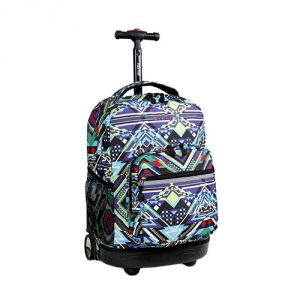 Zega-J-World-New-York-Sunrise-Rolling-Backpack