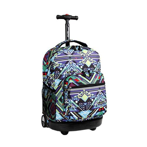 Zega – J World New York Sunrise Rolling Backpack - Love the Edit