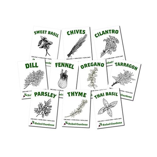 Herb-Garden-Organic-Herb-Seeds