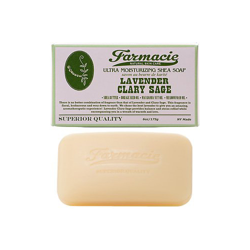 Bar Soap Lavender Clary Sage by Farmacie
