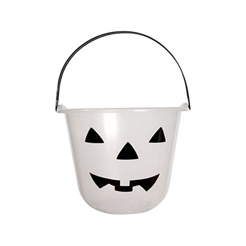 Glow-in-the-dark Jack-o-lantern Treat Pails