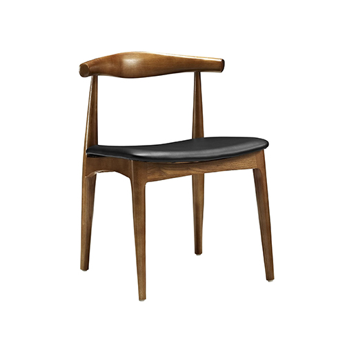Hans Wegner Style Elbow Dining Side Chair