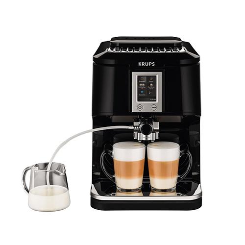KRUPS-Touch-Cappuccino-Espresso-Machine