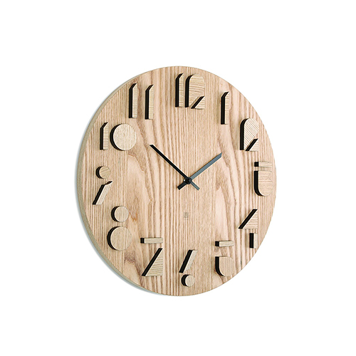 Umbra-Shadow-Wooden-Wall-Clock