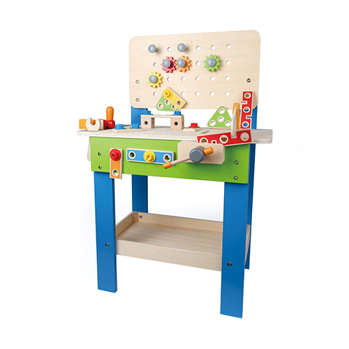 TODDLER-Hape-Wooden-Master-Workbench