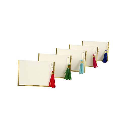 Meri Meri Tassel Placecards, Set of 10