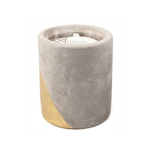Paddywax Urban Collection Soy Wax Candle In Concrete Pot