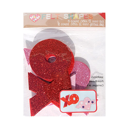 Felt-Valentines-Day-Craft-Shapes