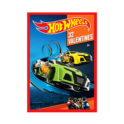 Hot-Wheels-Kids-Valentine-Cards