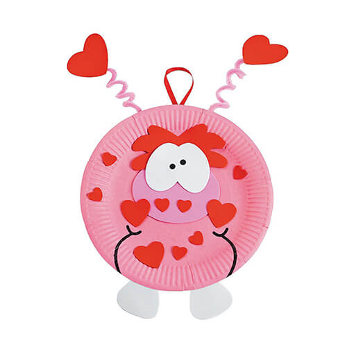 Paper-Plate-Valentine-Monster-Craft-Kit