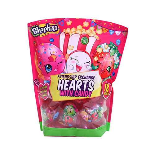 Shopkins Heart Gifts with Candy