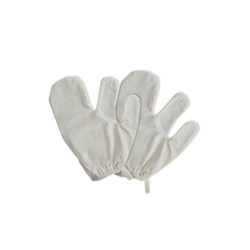 Raw Silk Massage Gloves