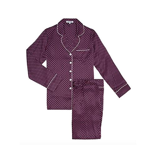 Cherry-Olivia-Von-Halle-Silk-Pyjama
