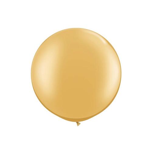 "Metallic Gold Latex Balloons (2 ct, 30"")"