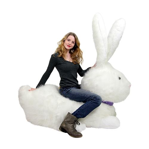 Huge Stuffed Bunny