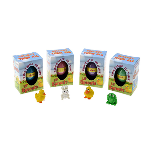 Lil' Sprouts Hatching Easter Eggs