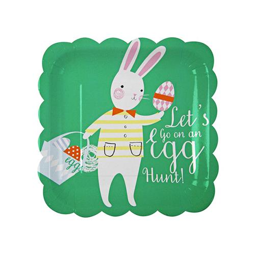 Meri Meri Funny Bunnies Paper Plates