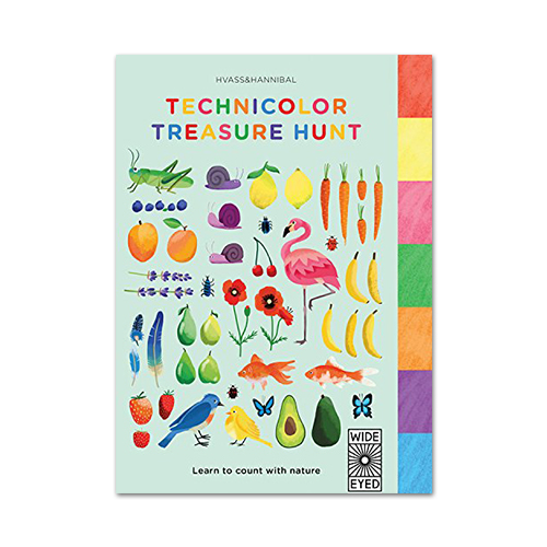 Technicolor Treasure Hunt: Learn to Count With Nature
