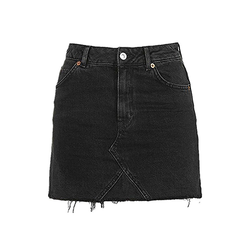 Vintage-Denim-Skirt